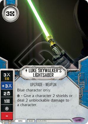 Luke Skywalker's Lichtschwert