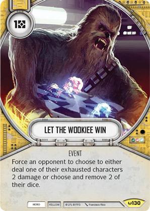 Lass den Wookiee gewinnen