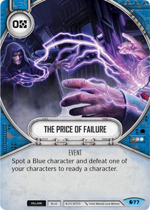 Der Preis für dein Versagen
