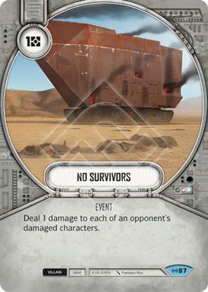 Keine Überlebenden