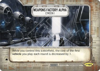Rüstungsfabrik Alpha