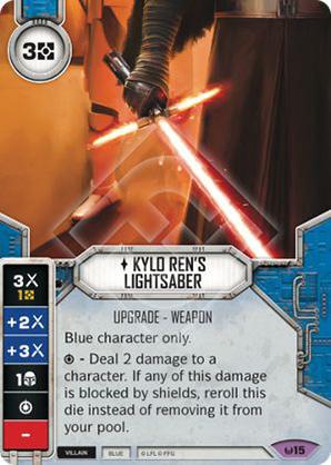 Kylo Ren's Lichtschwert
