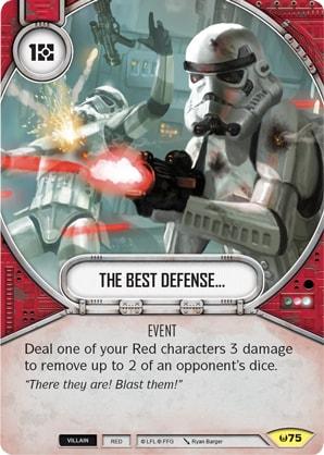 Die beste Verteidigung...