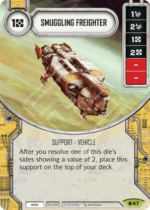 Schmuggler-Frachter