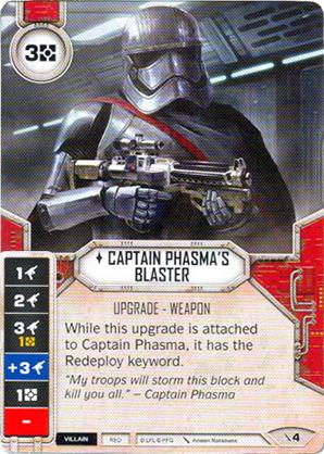 Captain Phasmas Blaster